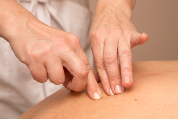 therapeutic massage for the back