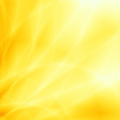 Bright sun ray abstract summer yellow background