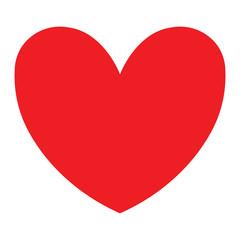 Heart Icon Minimal Design Love Symbol Illustration