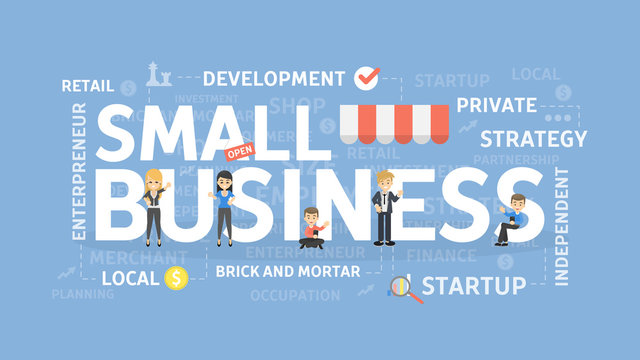 Small business concept.