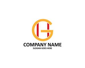 gh letter logo