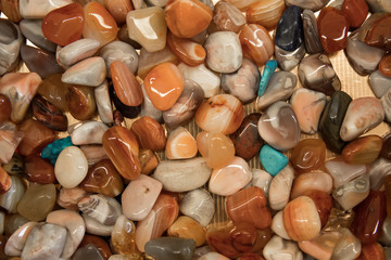 Group of precious stones