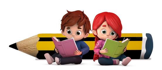 Resultado de imagen de niños con libros