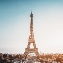 Poster Eiffeltoren Tour Eiffel (Eiffel Tower) in Paris, France