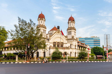 Lawang Sewu building in Semarang, Central Java, Indonesia