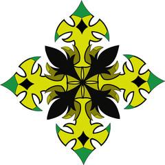 freen tattoo floral mandala art