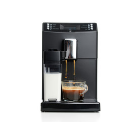 Espresso and americano coffee machine maker
