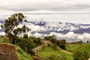 Berglandschaft in Costa Rica