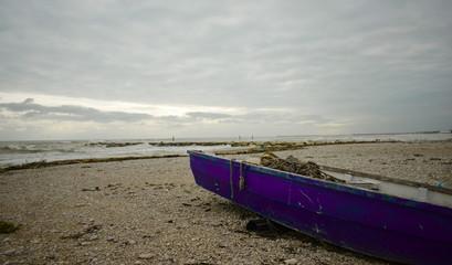 Barca spiaggiata