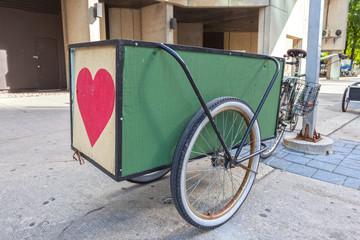 Bike with a trailer