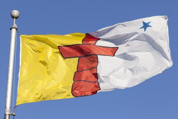 Nunavut province flag, Canada