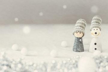 雪の日は二人の距離を縮める