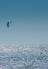Kite Surfer On Pacific Ocean