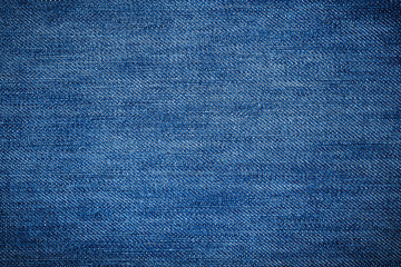 Blue jean texture and background