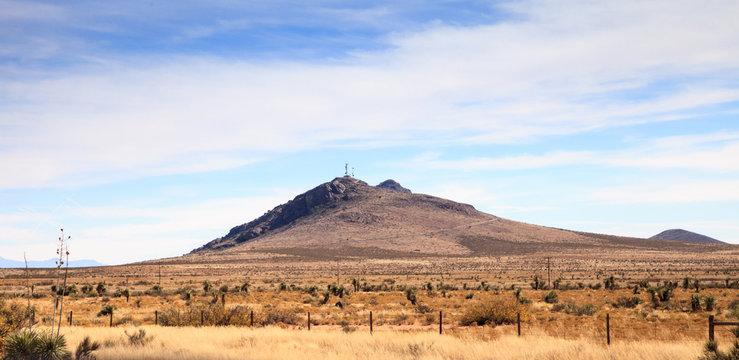 Peloncillo Mountains near Las Cruces New Mexico