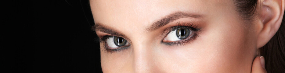 Beautiful eyes of Adult Woman