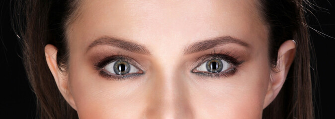 Beautiful eyes of Adult Woman