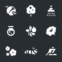 Vector Set of Gardening Icons.