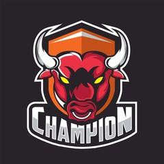 Bull design template