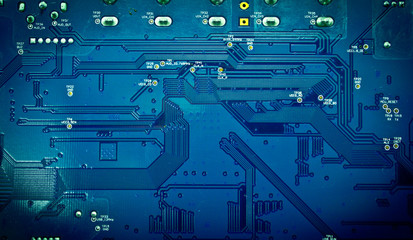 Green PCB  for use as background