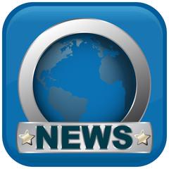 news blue icon