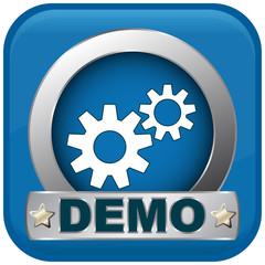 demo blue icon
