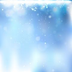 Winter Blurred Background