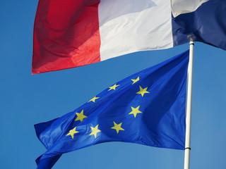 drapeau Europe France union européenne