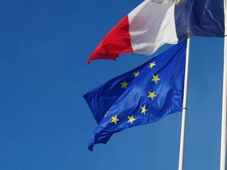 drapeaux Europe France union européenne