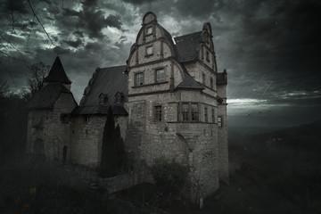 Oberschloss Kranichfeld - Mystisch