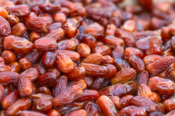 lot of dried dates