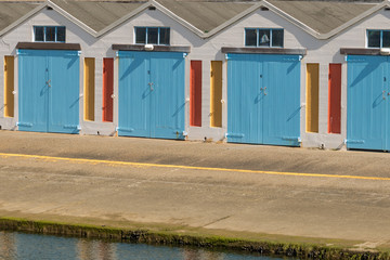 Beach Boat Buildings
