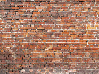 old brick wall. brickwork texture as background
