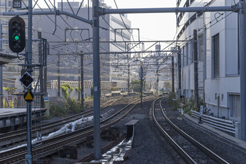 Railway system is one of the most important public transportation in Tokyo.