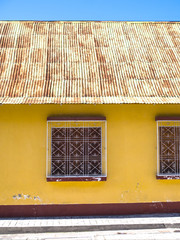 Windows & doors - Flores, Guatemala