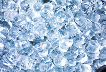 Crushed ice beverage.