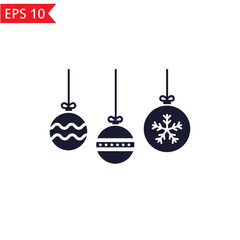 Christmas toys icon.