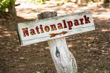 Schild 263 - Nationalpark