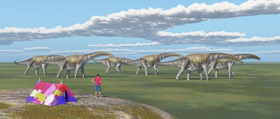 Weltenbummler und Dinosaurier