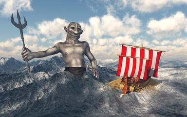 Odysseus und Poseidon
