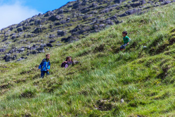 Kids on the Hillside