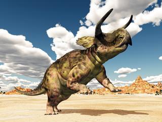 Dinosaur Nasutoceratops