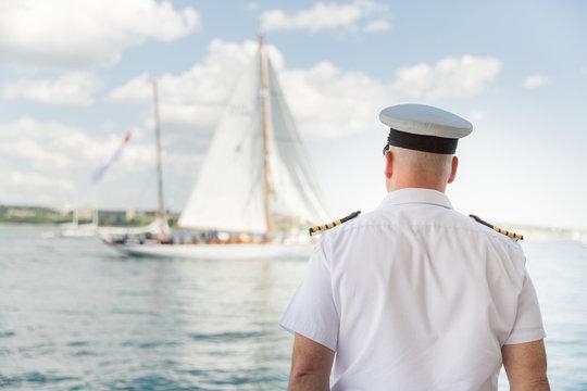 Captain & Sailboat