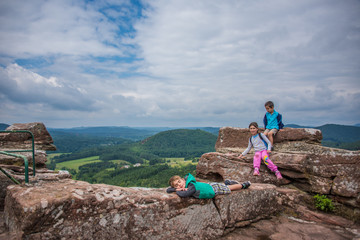Kids on the Ancient Castle