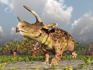 Dinosaurier Nasutoceratops