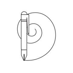 pen utensil icon