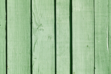 Greencolor wooden fence pattern.
