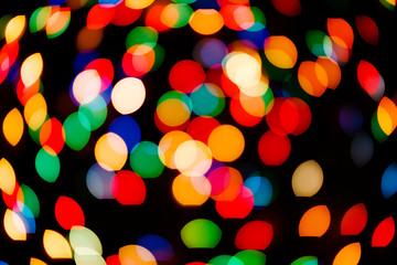 Color light blurred bokeh background, unfocused.
