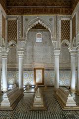 saadian tombs of marrakech, morocco