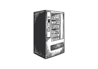 Vending Machine Hand Drawn